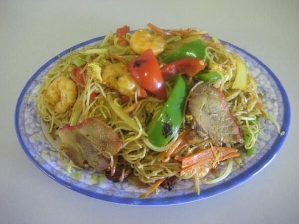 Singapore Noodles (Spicy)